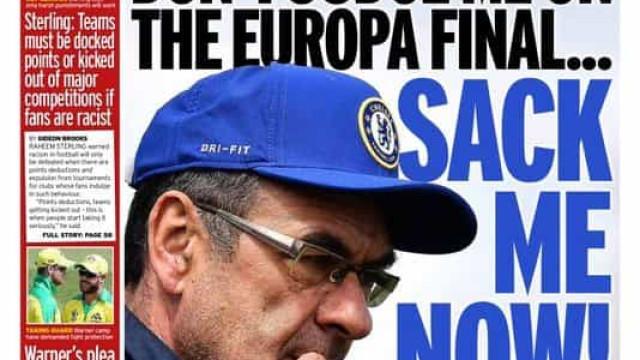 Lá fora: O ultimato de Sarri e os desejos do Real Madrid