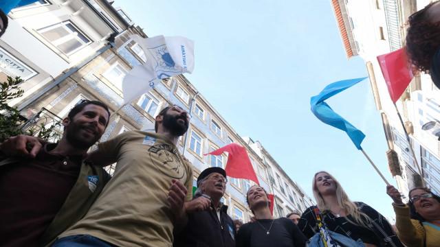 Último dia de campanha: PSD, BE e CDS no Porto, PS e comunistas em Lisboa