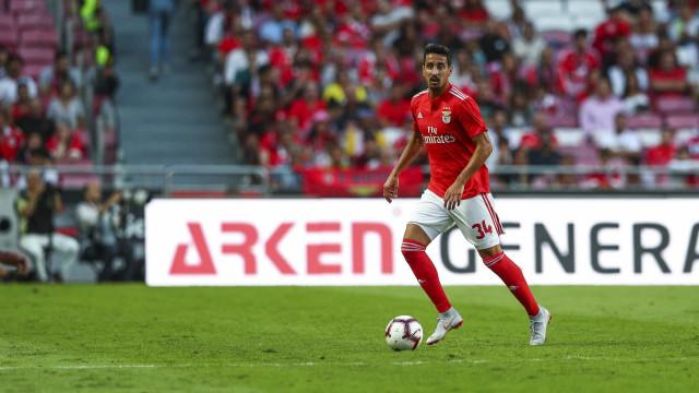 André Almeida falha mais um jogo de pré-temporada