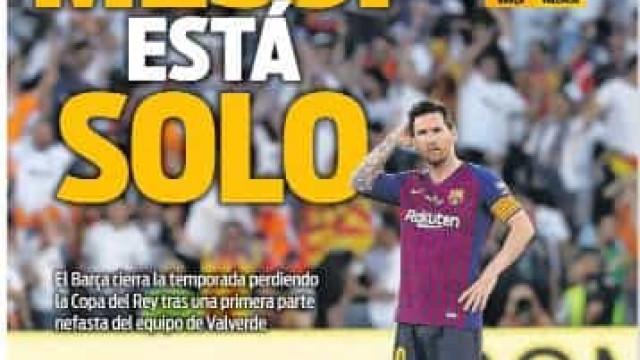 Lá fora: Messi sozinho não chega para 'segurar' o Barcelona?