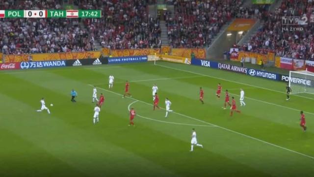 Este polaco tem 20 anos mas marcou um golaço para 'mostrar aos... netos'
