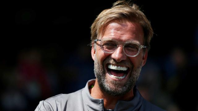 Perguntaram a Klopp sobre o golo do Barcelona e alemão... riu-se