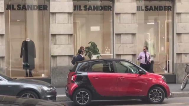 Diretor da Juve e agente de Sarri 'apanhados' em encontro de trabalho