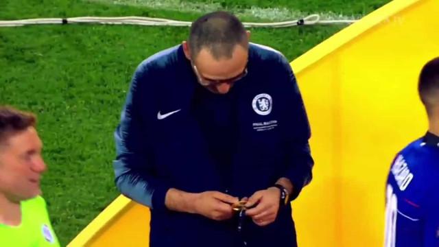 Chelsea despede-se de Sarri com vídeo emotivo dos melhores momentos