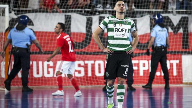 """Sporting perde campeonato: """"Futsal é extraordinário mas hoje... F******"""""""