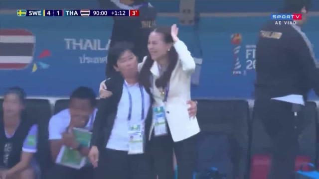 Melhor golo do Mundial? A felicidade também existe na hora da derrota