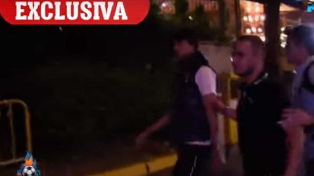 João Félix 'apanhado' em Madrid com Jorge Mendes