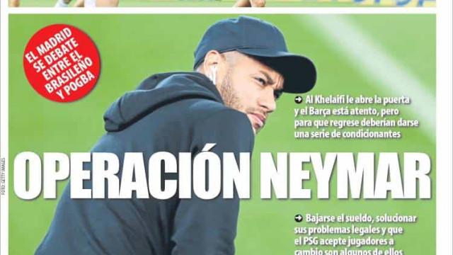 Lá fora: Neymar e João Félix em destaque em Espanha