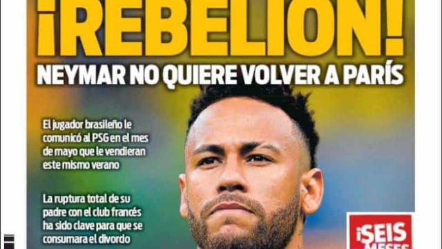 Lá fora: A exigência de Neymar e o primeiro 'presente' para Sarri