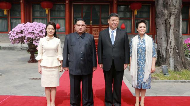 Líderes chinês e norte-coreano reúnem-se em período de disputas