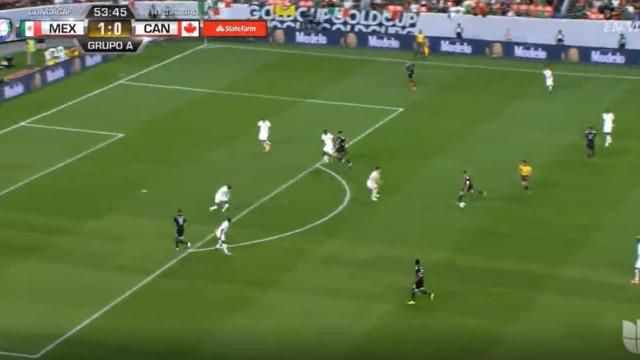 O belíssimo golo de Guardado na vitória do México ante o Canadá