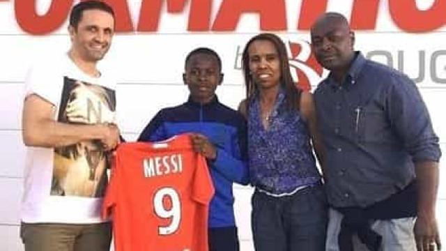 Contratação curiosa: Messi assina por clube da Ligue 1