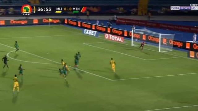 Diaby, avançado do Sporting, marca golaço na CAN para ver e rever