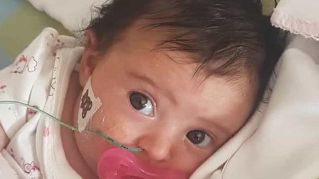 Matilde, a bebé com doença rara que precisa de 2 milhões para sobreviver