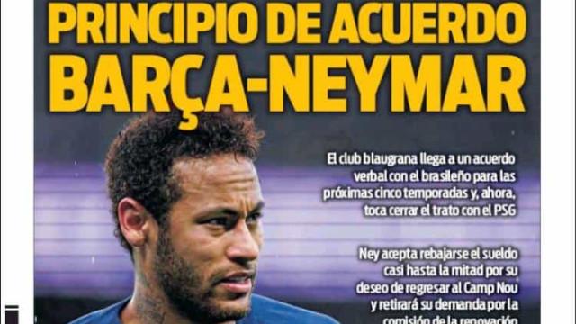 Lá fora: Mercado ferve e Neymar parece que já tem pré-acordo com o Barça