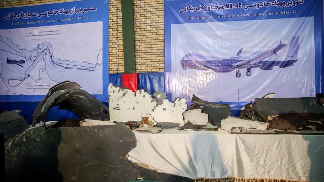 Rússia garante que drone estava em espaço iraniano quando foi abatido
