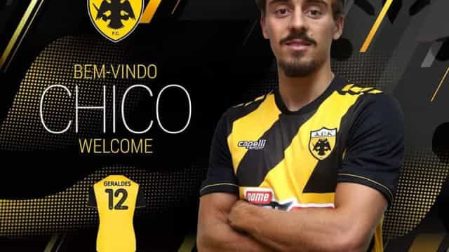 Oficial: Francisco Geraldes já veste as cores do AEK