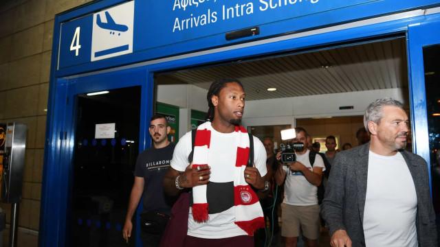 Rúben Semedo já aterrou em Atenas. Sporting vai receber 900 mil euros