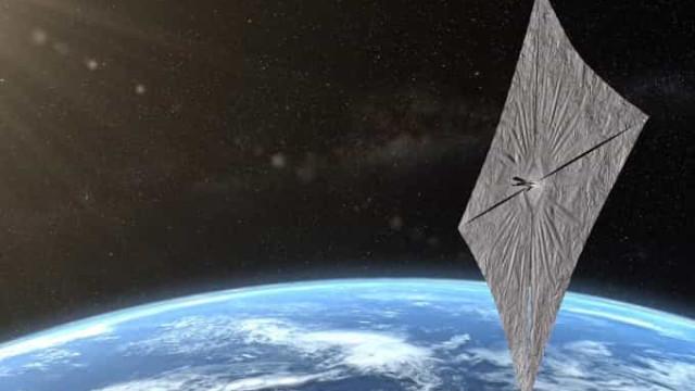 Lançada para o Espaço nave que usa luz do Sol como combustível