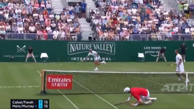 Reflexos impressionantes de Murray seis meses após ser operado à anca