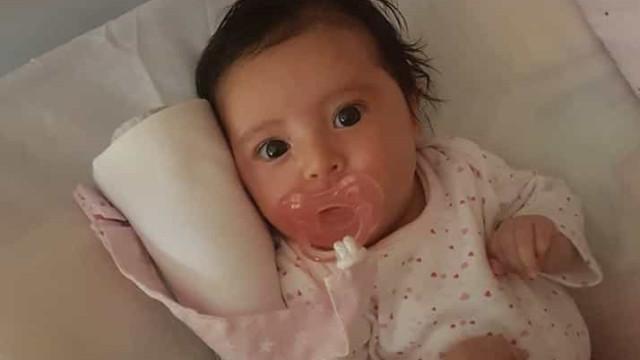 Bebé Matilde recebe o fármaco de 2 milhões esta semana