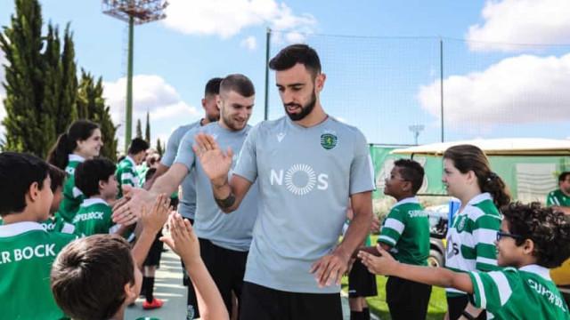 O plano do Sporting para Bruno Fernandes caso o médio fique em Alvalade