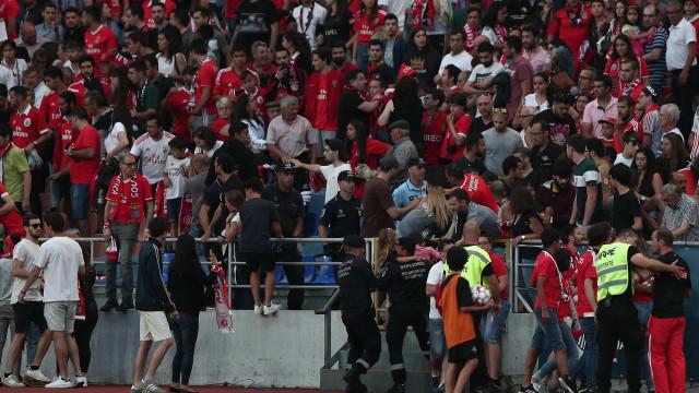 Alegado agressor de adepto do Benfica entregou-se à PSP de Coimbra