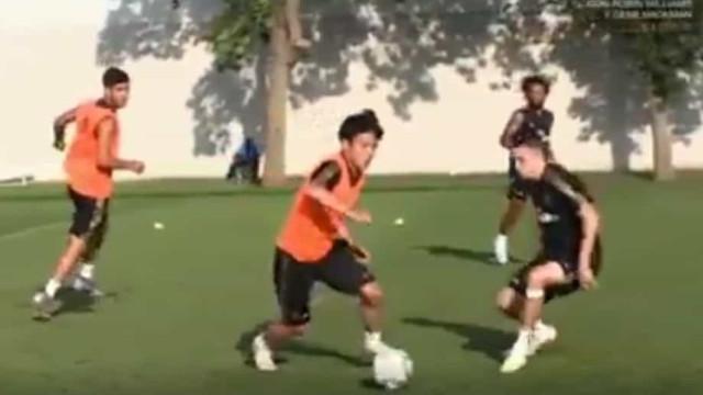 Kubo já impressiona os colegas do Real Madrid nos treinos