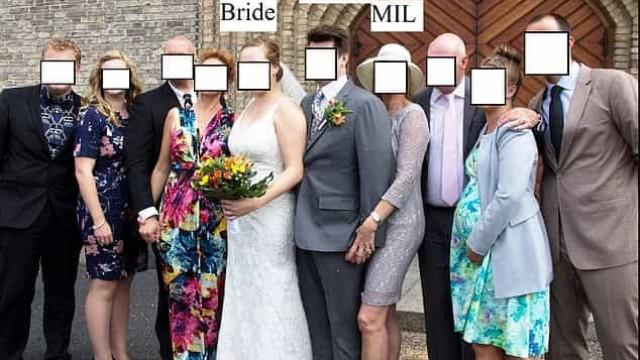 Esta mãe está a ser criticada pelo que fez na foto de casamento do filho