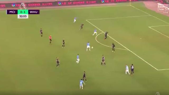 O golo foi de David Silva, mas o mérito tem de ir para a... assistência