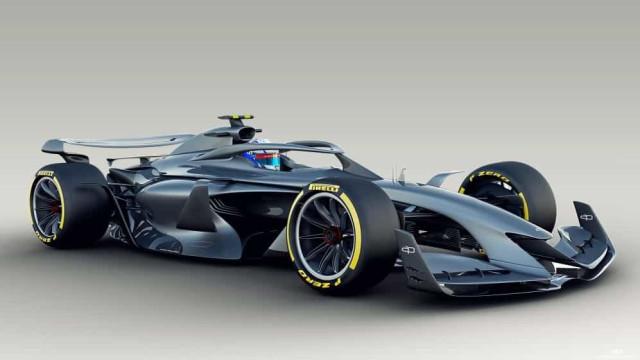 Fórmula 1 quer que os monolugares sejam assim em 2021