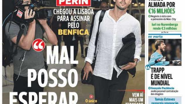 Por Cá: Perin 'já cá canta', Marcano dá missa e... Vietto quer o título
