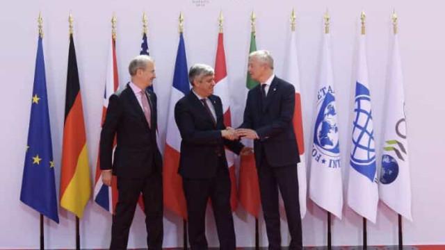 França será o 'arbitro' na seleção do líder do FMI. Centeno na corrida
