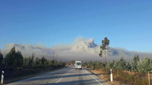 Autarca de Vila de Rei diz que fogo está impossível de parar