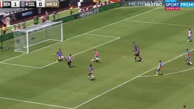 Taarabt, Jota e Rafa 'cozinharam' segundo golo do Benfica ante o Chivas