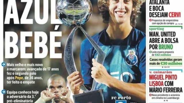 Por cá: Fábio Silva, o novo menino bonito, e os elogios de Jonas a Lage