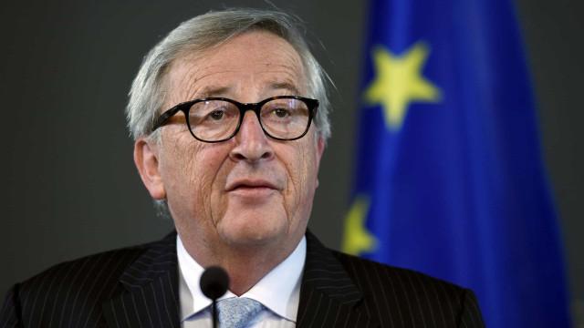 """""""É um momento trágico para a Europa"""", diz Juncker sobre o Brexit"""