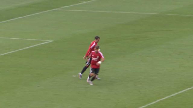 Confira os cinco golos que o Benfica marcou frente ao Atlantic City