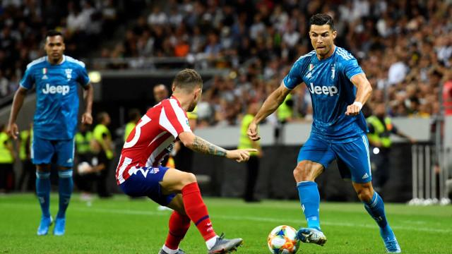 Ronaldo na lista da Juventus para o primeiro jogo oficial da época