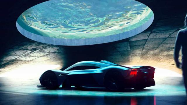A garagem perfeita para o carro de sonho: Eis a proposta da Aston Martin