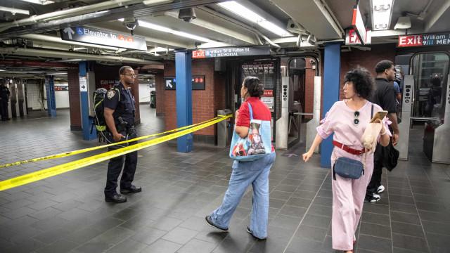 Responsável por alerta em metro de Nova Iorque está sob custódia policial