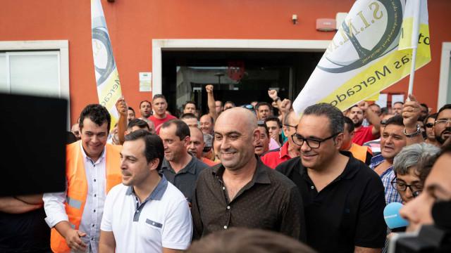 """""""Não admitimos retirar o pré-aviso de greve, estamos é abertos a diálogo"""""""
