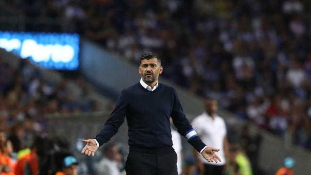"""Conceição satisfeito após """"uma semana difícil para o FC Porto"""""""