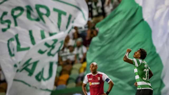 [2-1] Sporting-Sp.Braga: Golo dos arsenalistas. Marca Wilson Eduardo