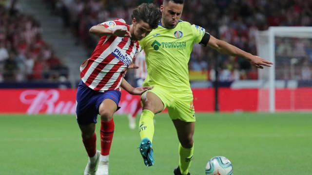Atlético alcança vitória magra... em noite em que Félix deu que falar
