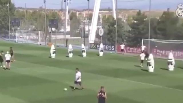 O golaço de James Rodríguez a passe de... Zidane