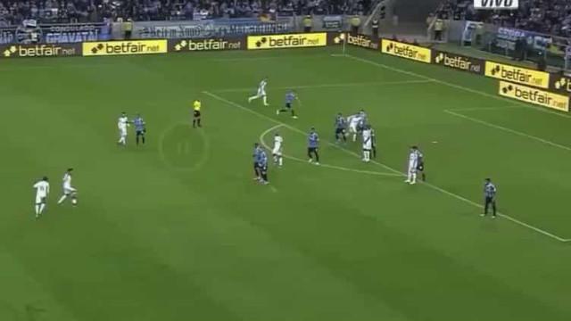 Que pontapé: Palmeiras marca um dos melhores golos da Libertadores