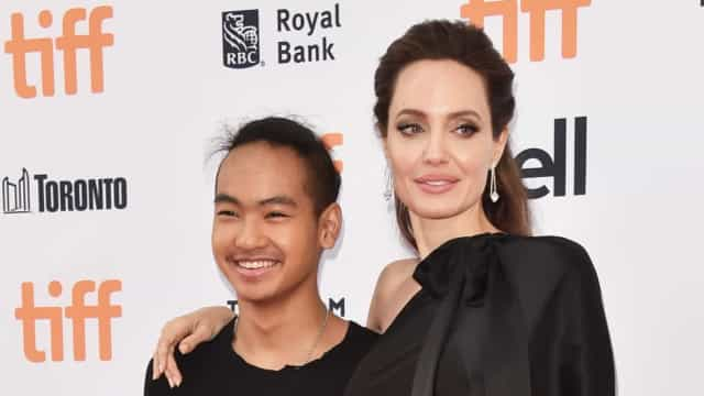 As palavras de Angelina Jolie no primeiro dia de universidade do filho
