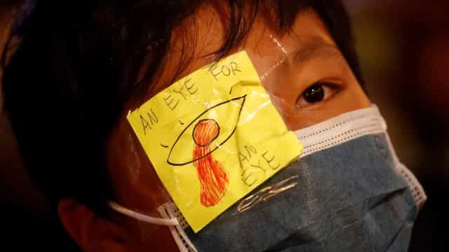 Novo protesto em Hong Kong contra veto de Pequim ao sufrágio universal