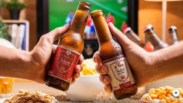 """Mercadona lança cervejas 100% portuguesas: """"A minha"""" e """"A Tua"""""""